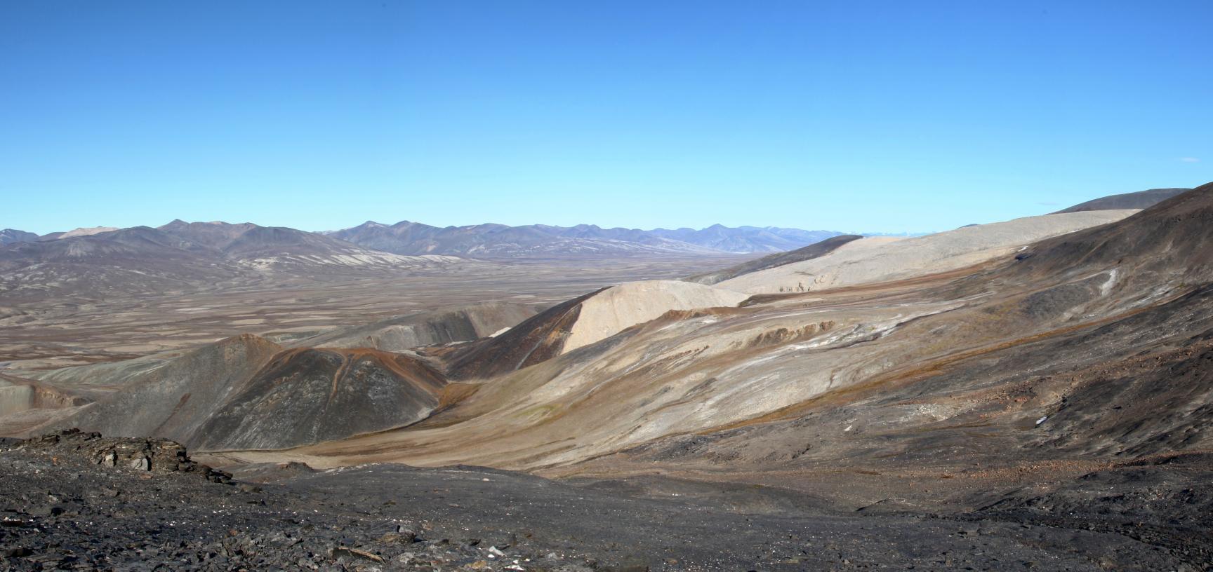 Sirius Passet fossil locality