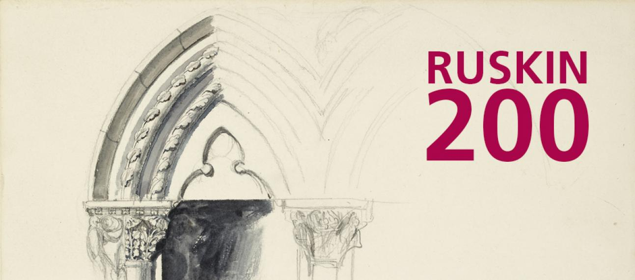 Ruskin 200 banner with text
