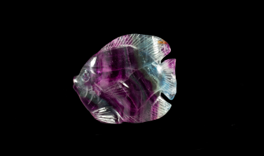 Fluorite carving