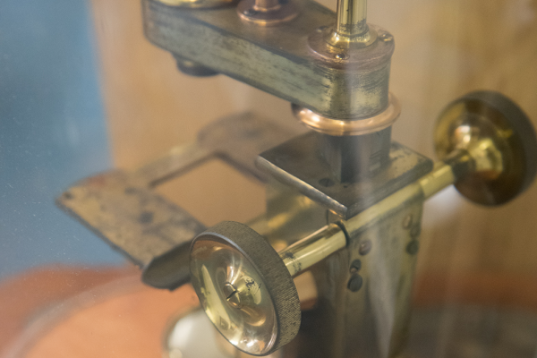 Objects collection, microscope, Oxford University Museum of Natural History