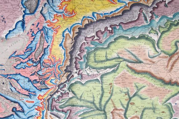 William Smith geological map