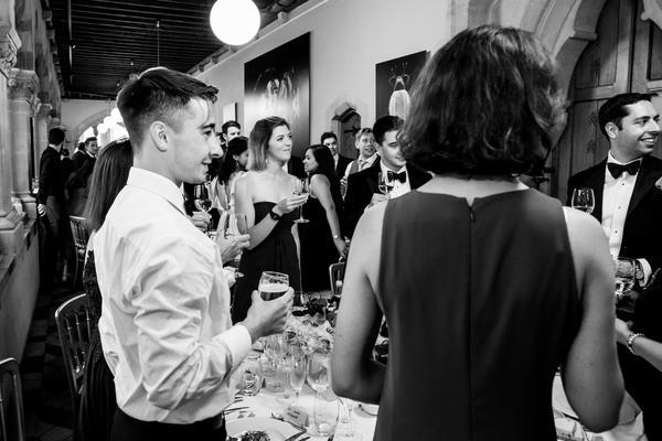 wedding  george and hannah toast dainiel west