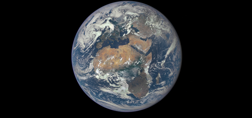 earth from space credit nasa