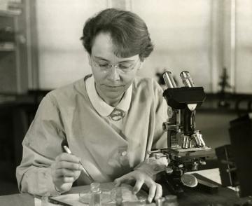 Barbara McClintock in 1947