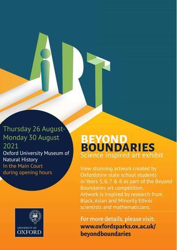 Beyond Boundaries exhibition poster