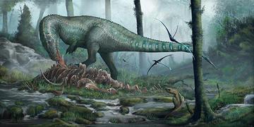 megalosaurus  dinosaurs and art event image