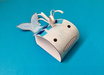 ready made whale