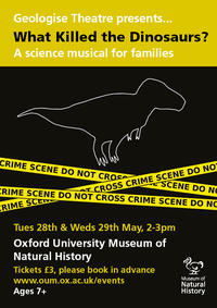 what killed the dinosaurs poster a4 may